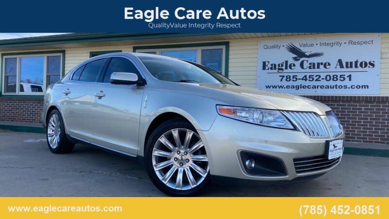 2011 Lincoln MKS for sale at Eagle Care Autos in Mcpherson KS
