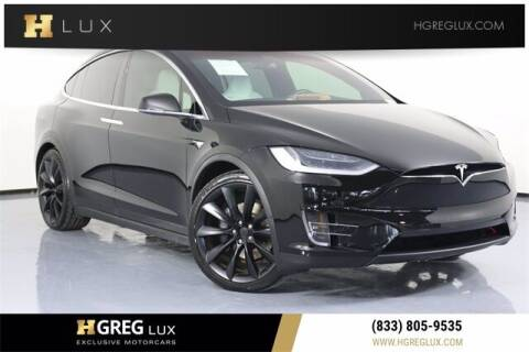 2018 Tesla Model X for sale at HGREG LUX EXCLUSIVE MOTORCARS in Pompano Beach FL
