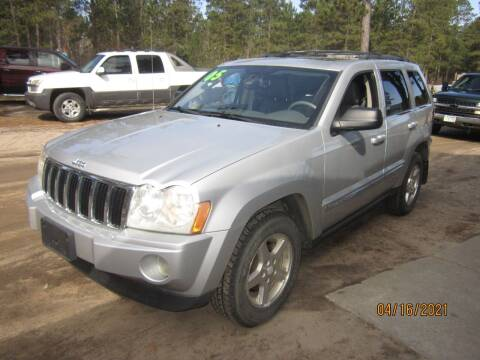 2005 Jeep Grand Cherokee for sale at SUNNYBROOK USED CARS in Menahga MN
