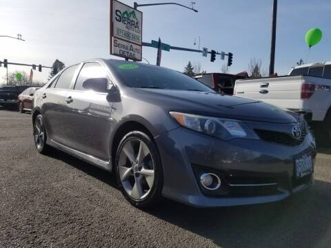 2014 Toyota Camry for sale at SIERRA AUTO LLC in Salem OR