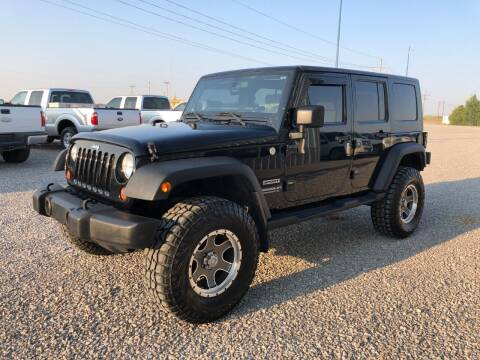 2010 Jeep Wrangler Unlimited for sale at B&R Auto Sales in Sublette KS