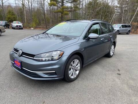 2019 Volkswagen Golf SportWagen for sale at North Berwick Auto Center in Berwick ME