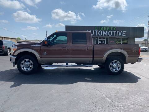 2012 Ford F-250 Super Duty for sale at Smooth Solutions 2 LLC in Springdale AR