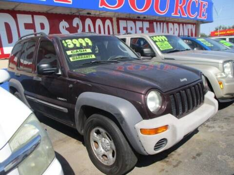 2004 Jeep Liberty for sale at Car One - CAR SOURCE OKC in Oklahoma City OK