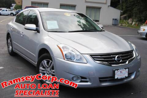 2010 Nissan Altima for sale at Ramsey Corp. in West Milford NJ