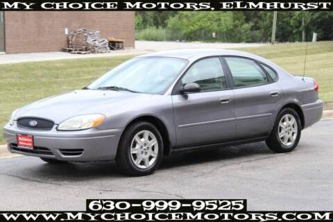 2007 Ford Taurus for sale at My Choice Motors Elmhurst in Elmhurst IL