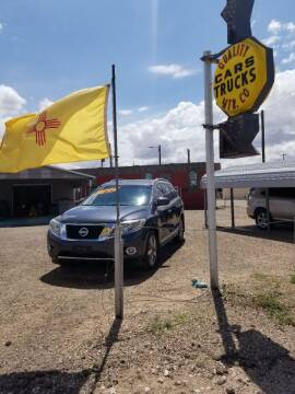 2013 Nissan Pathfinder for sale at QUALITY MOTOR COMPANY in Portales NM