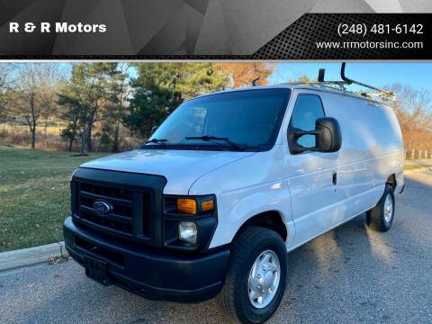 2011 Ford E-Series Cargo for sale at R & R Motors in Waterford MI