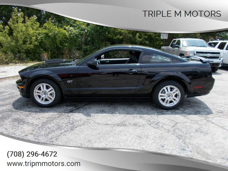 2007 Ford Mustang for sale at Triple M Motors in Saint John IN