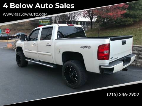 2011 Chevrolet Silverado 1500 for sale at 4 Below Auto Sales in Willow Grove PA