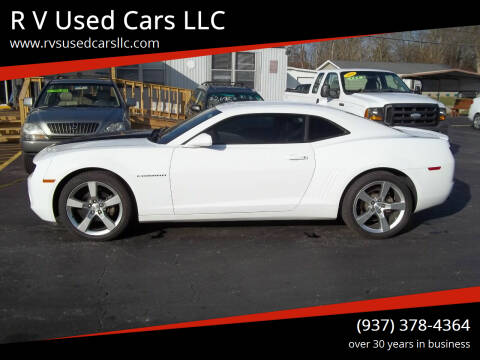2011 Chevrolet Camaro for sale at R V Used Cars LLC in Georgetown OH