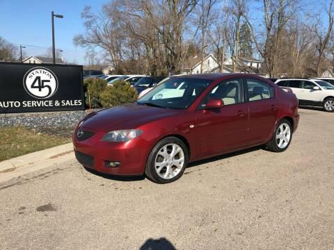 2009 Mazda MAZDA3 for sale at Station 45 Auto Sales Inc in Allendale MI