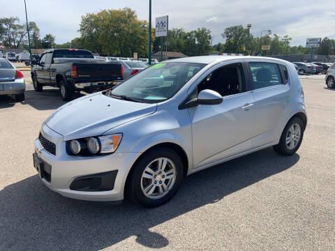 2012 Chevrolet Sonic for sale at Peak Motors in Loves Park IL