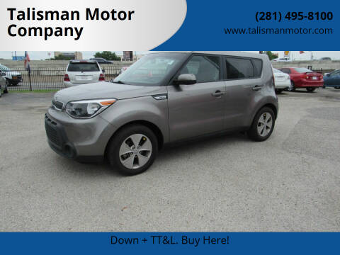 2016 Kia Soul for sale at Don Jacobson Automobiles in Houston TX