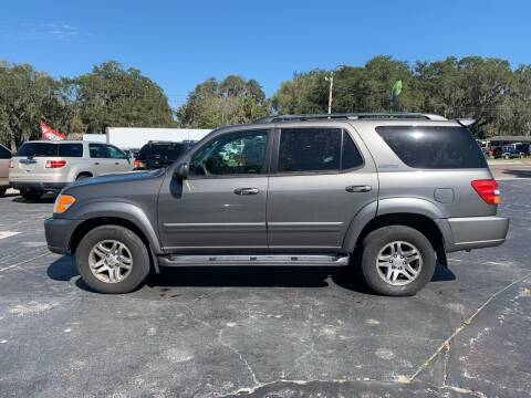 2003 Toyota Sequoia for sale at BSS AUTO SALES INC in Eustis FL