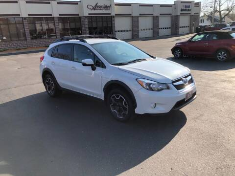 2015 Subaru XV Crosstrek for sale at ASSOCIATED SALES & LEASING in Marshfield WI
