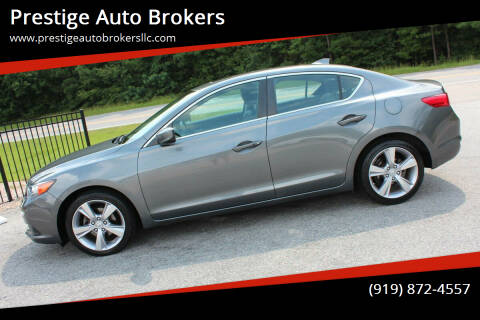 2014 Acura ILX for sale at Prestige Auto Brokers in Raleigh NC