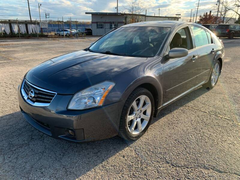 2008 Nissan Maxima for sale at Eddies Auto Sales in Jeffersonville IN