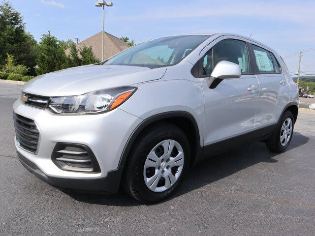 2019 Chevrolet Trax for sale at RUSTY WALLACE KIA OF KNOXVILLE in Knoxville TN