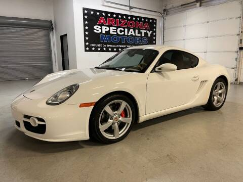 2007 Porsche Cayman for sale at Arizona Specialty Motors in Tempe AZ
