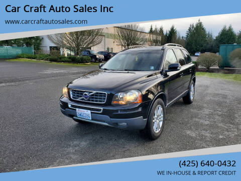 2010 Volvo XC90 for sale at Car Craft Auto Sales Inc in Lynnwood WA