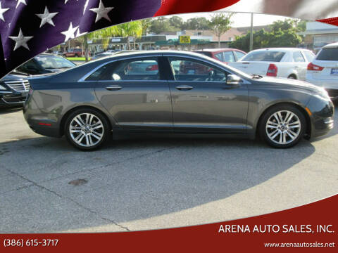 2015 Lincoln MKZ for sale at ARENA AUTO SALES,  INC. in Holly Hill FL