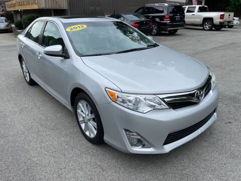 2012 Toyota Camry for sale at Worldwide Auto Group LLC in Monroeville PA