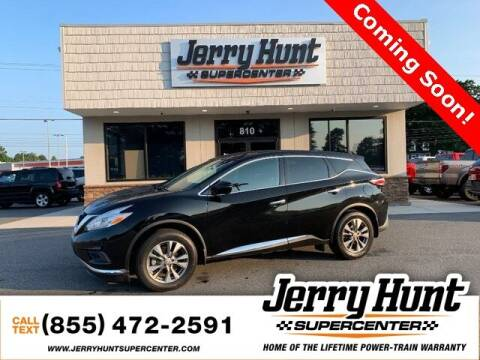 2017 Nissan Murano for sale at Jerry Hunt Supercenter in Lexington NC