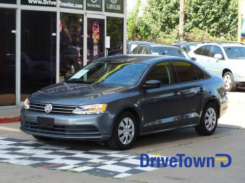 2015 Volkswagen Jetta for sale at Drive Town in Houston TX