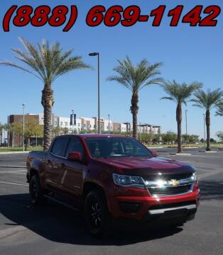 2018 Chevrolet Colorado for sale at AZMotomania.com in Mesa AZ