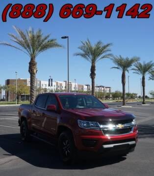 2018 Chevrolet Colorado for sale at AZautorv.com in Mesa AZ
