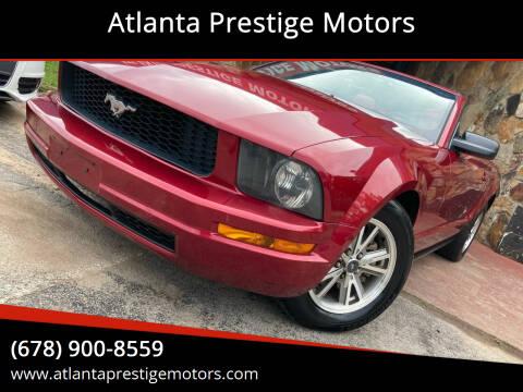 2005 Ford Mustang for sale at Atlanta Prestige Motors in Decatur GA