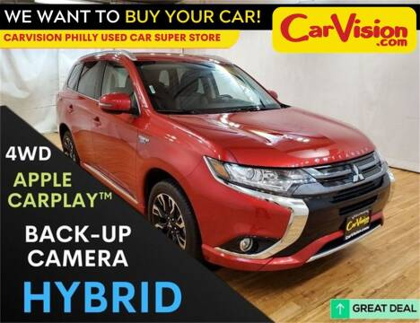 2018 Mitsubishi Outlander PHEV for sale at Car Vision Mitsubishi Norristown - Car Vision Philly Used Car SuperStore in Philadelphia PA