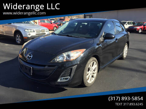 2011 Mazda MAZDA3 for sale at Widerange LLC in Greenwood IN