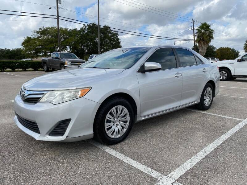 2014 Toyota Camry for sale at T.S. IMPORTS INC in Houston TX