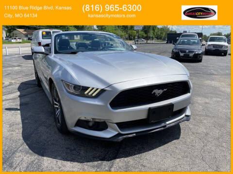 2016 Ford Mustang for sale at Kansas City Motors in Kansas City MO