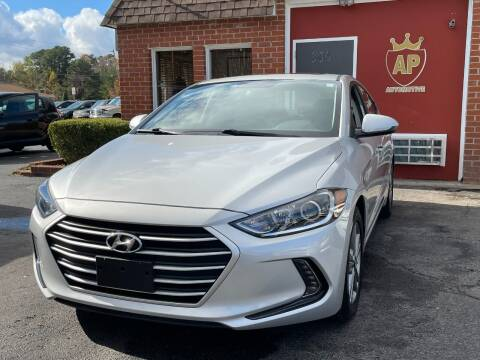 2017 Hyundai Elantra for sale at AP Automotive in Cary NC