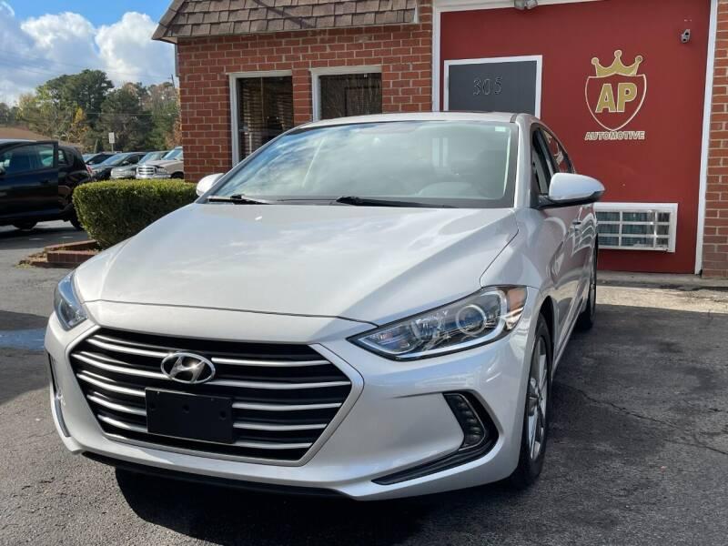 2017 Hyundai Elantra for sale at AP Automotive in Cary NC