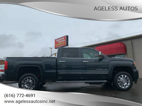 2019 GMC Sierra 2500HD for sale at Ageless Autos in Zeeland MI