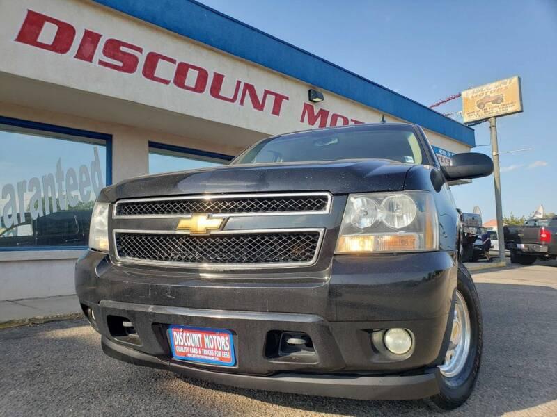 2007 Chevrolet Suburban for sale at Discount Motors in Pueblo CO