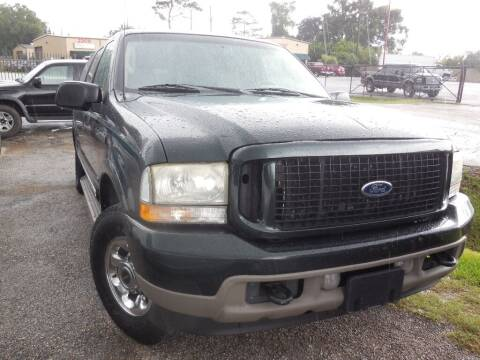 2003 Ford Excursion for sale at SCOTT HARRISON MOTOR CO in Houston TX