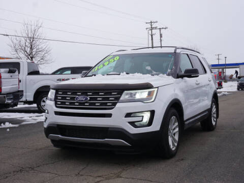 2017 Ford Explorer for sale at FOWLERVILLE FORD in Fowlerville MI