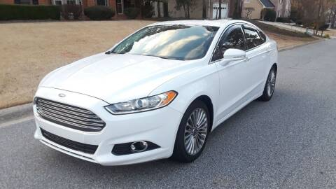 2013 Ford Fusion for sale at Don Roberts Auto Sales in Lawrenceville GA