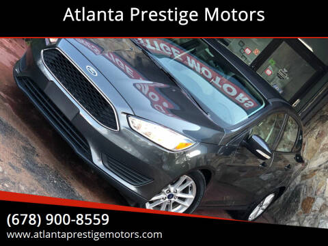 2016 Ford Focus for sale at Atlanta Prestige Motors in Decatur GA