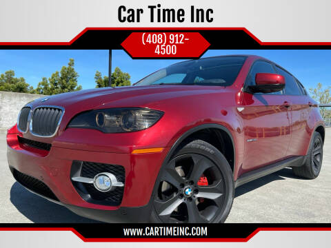 2012 BMW X6 for sale at Car Time Inc in San Jose CA