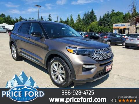 2021 Ford Explorer for sale at Price Ford Lincoln in Port Angeles WA