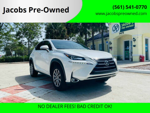 2017 Lexus NX 200t for sale at Jacobs Pre-Owned in Lake Worth FL