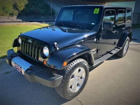 2009 Jeep Wrangler Unlimited for sale at Apple Auto in La Crescent MN