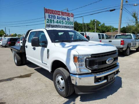 2021 Ford F-350 Super Duty for sale at RODRIGUEZ MOTORS CO. in Houston TX