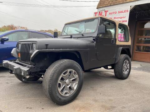 1993 Jeep Wrangler for sale at TNT Auto Sales in Bangor PA